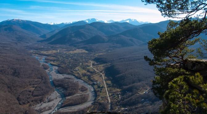 Поездка на гору Монах, посёлок Хамышки.