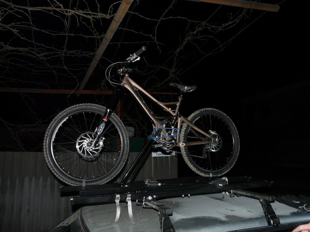 Установка велов на крышу.